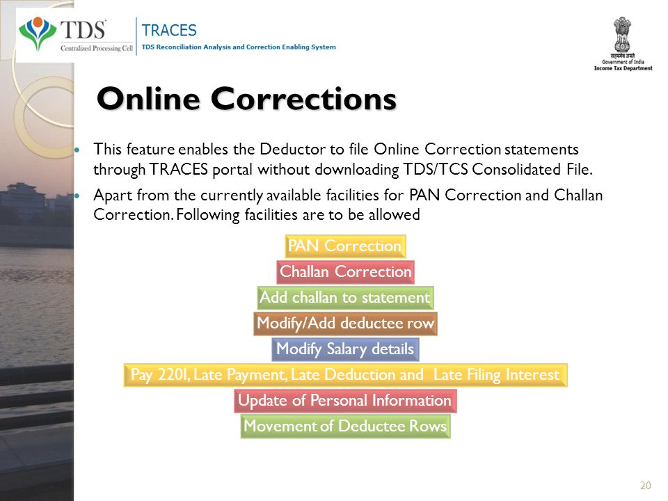 Tax deduction collection at source ppt video online download online corrections ccuart Image collections