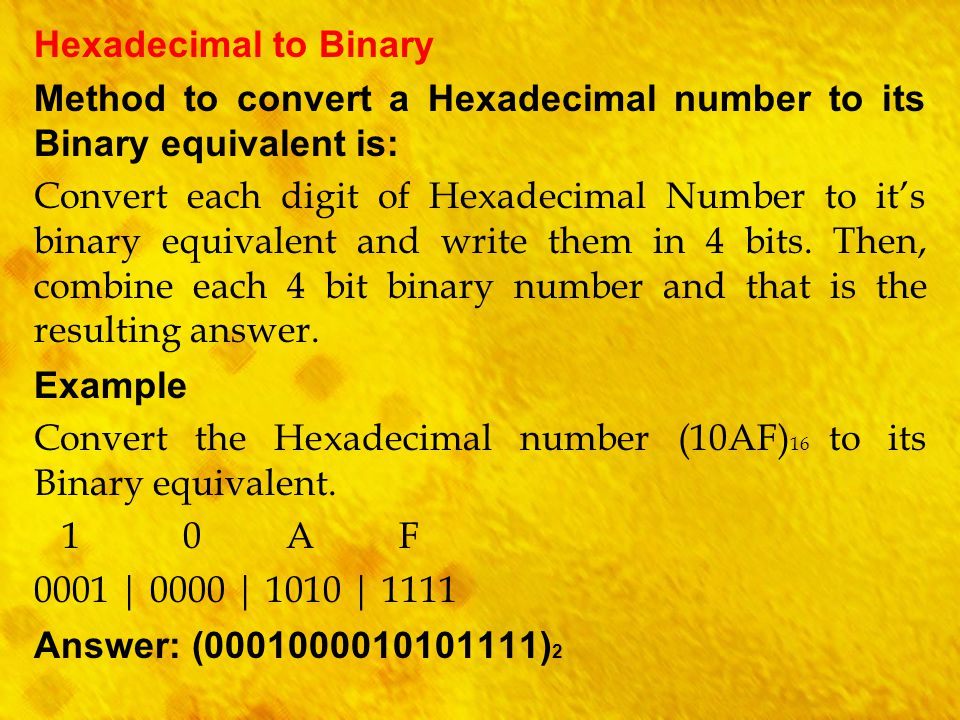 Java program to convert decimal to hexadecimal
