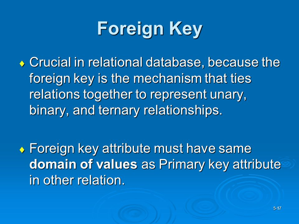how to add forien key in databases