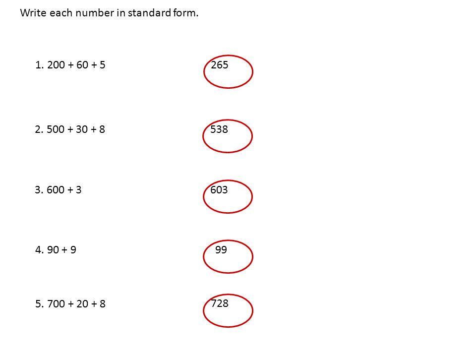 Whole Numbers In Standard Form Nurufunicaasl