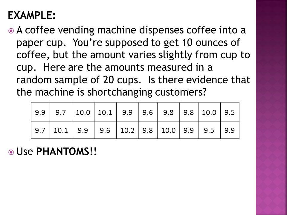 a vending machine dispenses coffee into