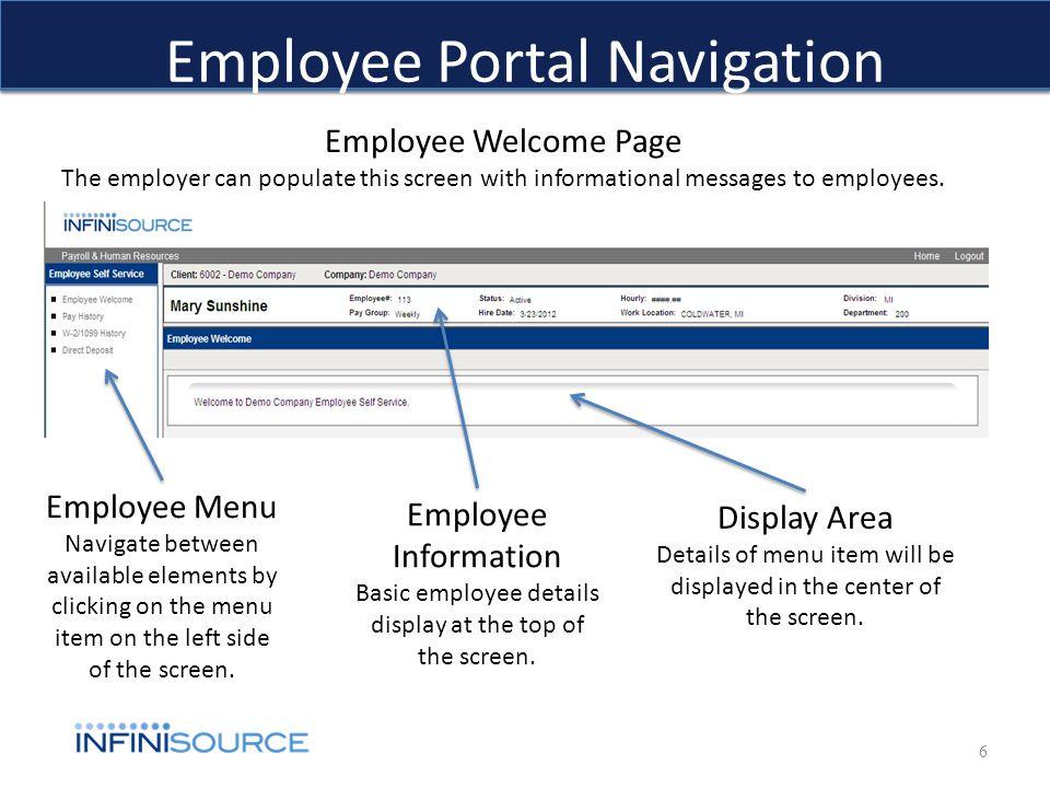 how to create employee portal