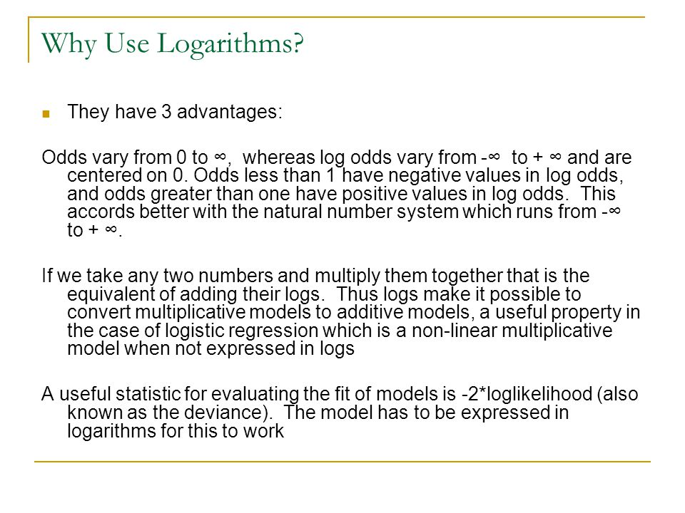 Why Use Natural Logarithms