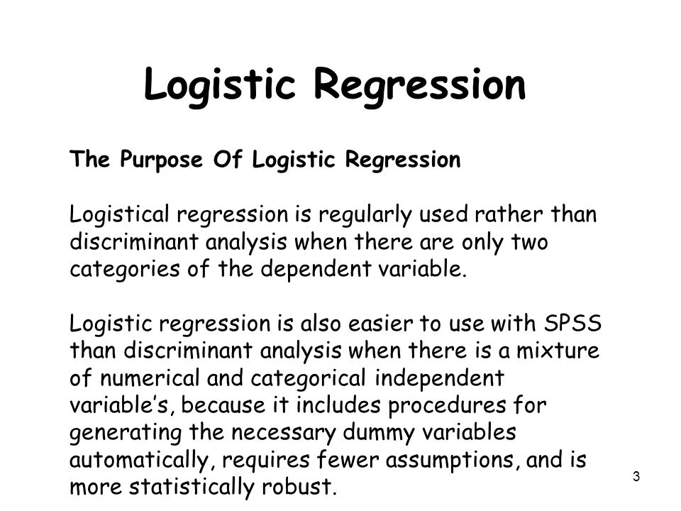 the purpose of spss