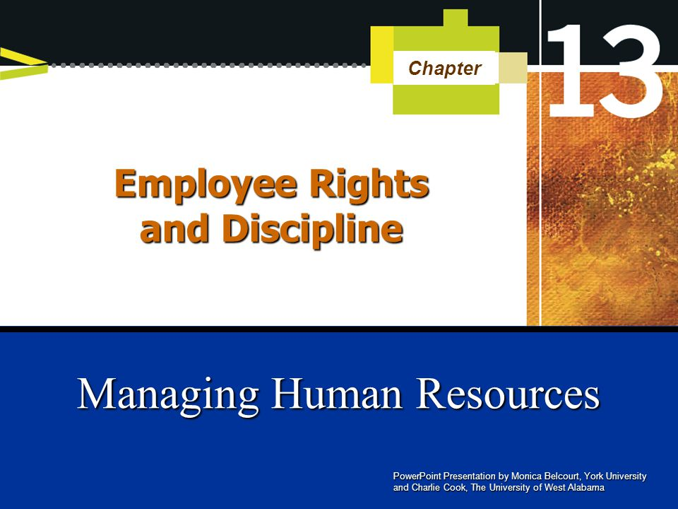 employee relations and employee discipline 0701 - employee discipline labour relations is a unit in the corporate human resource disciplinary letters for employees who are members of the northwest.