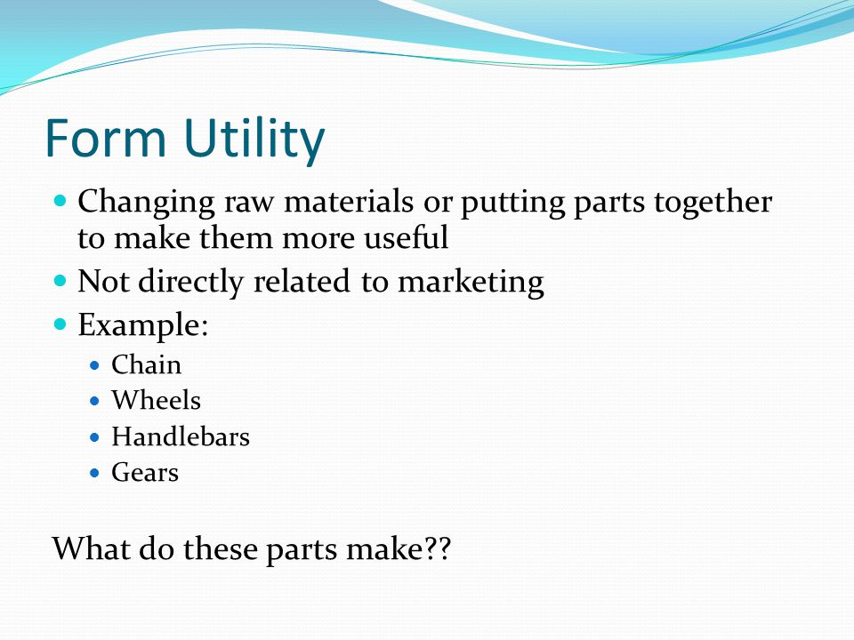 The Five Economic Utilities - ppt video online download