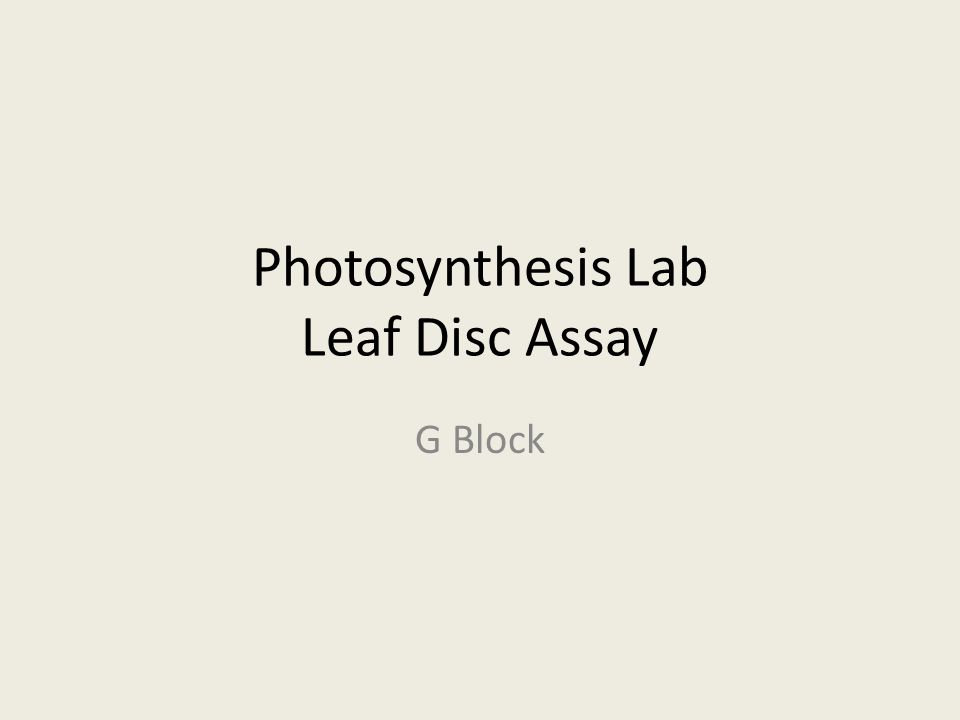 rate pf photosynthesis lab report leaf discs co2 [photosynthesis practical report]title: rate that photosynthesis occurs using ivy leaf discs in various concentrations of sodium photosynthesis in elodea lab essay.