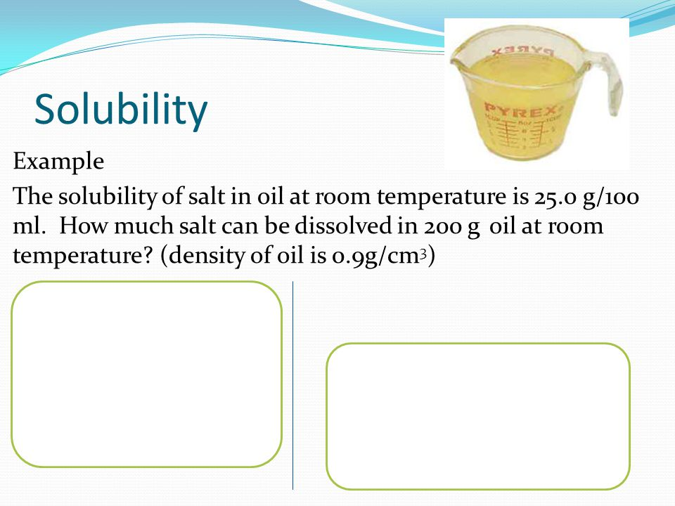Solubility A Physical Property. - Ppt Video Online Download