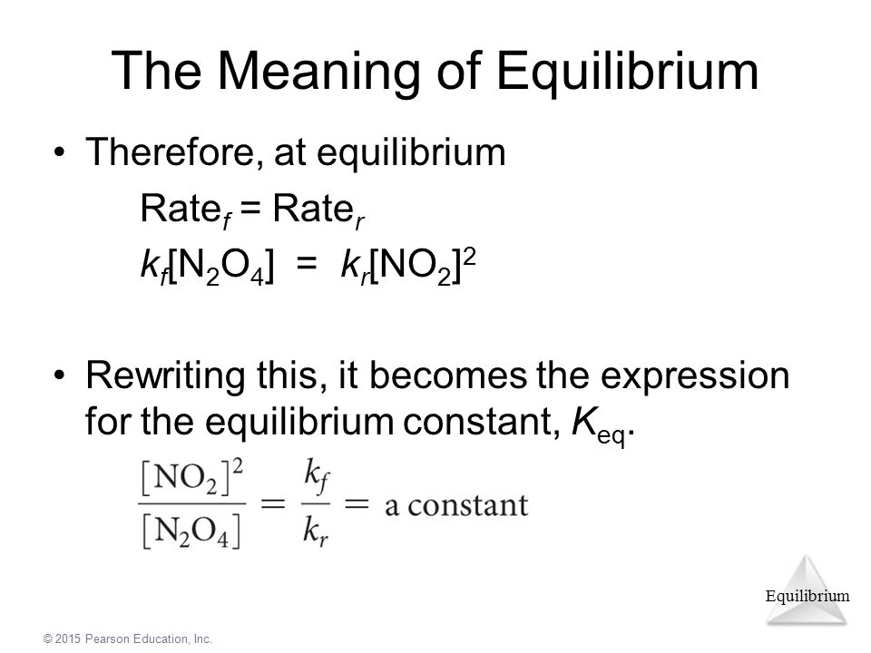 The Meaning of Equilibrium