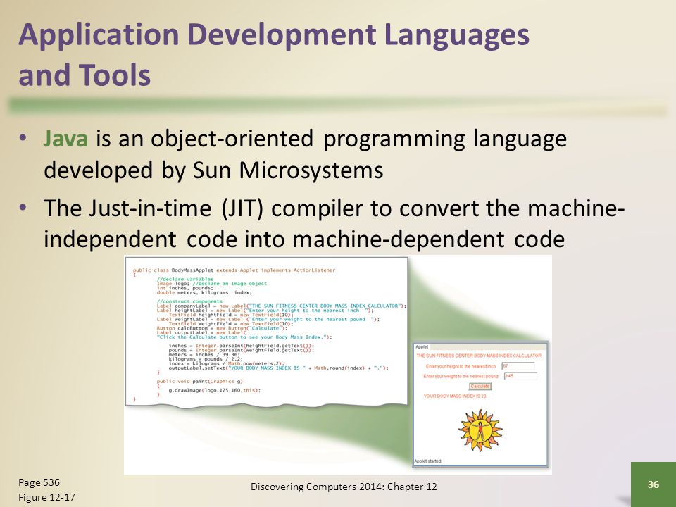 Application Development Languages and Tools