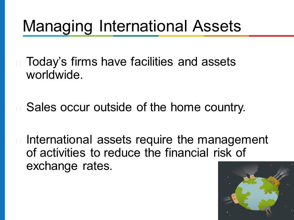 Managing International Assets