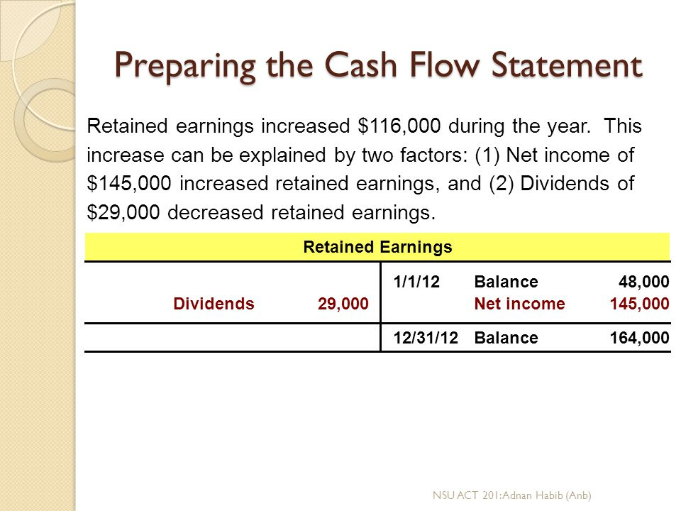 preparation of a cash flow statement essay Use a cash flow statement as well as cash flow projections to clarify your company's position on cash if you have any concerns about creating or understanding your cash flow statement and projections, work with a cpa or other knowledgeable financial specialist.