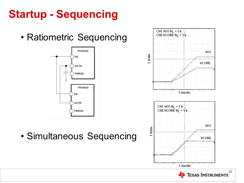 Startup - Sequencing Ratiometric Sequencing Simultaneous Sequencing