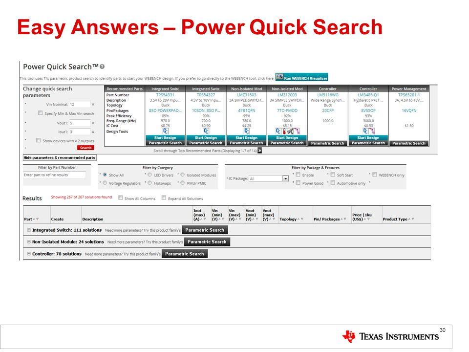 Easy Answers – Power Quick Search