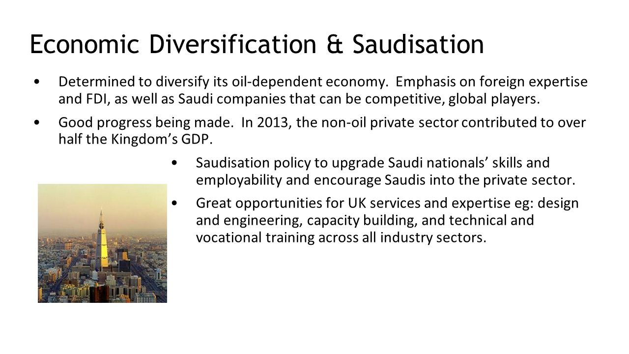 Economic Diversification & Saudisation