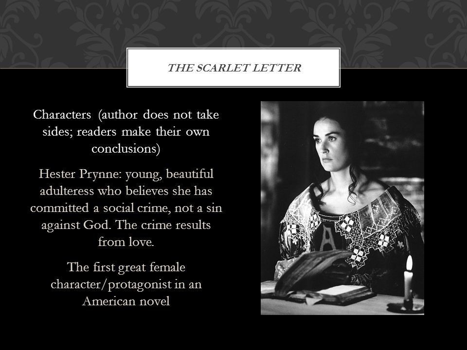 Truth In The Scarlet Letter