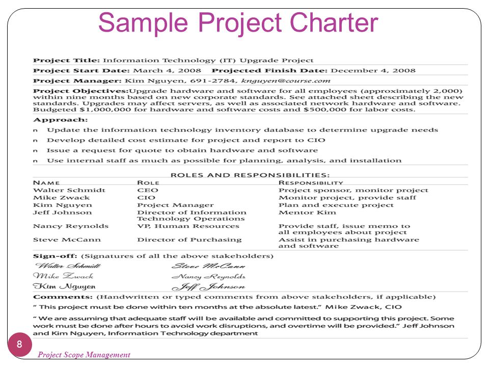 project scope management ppt video online download