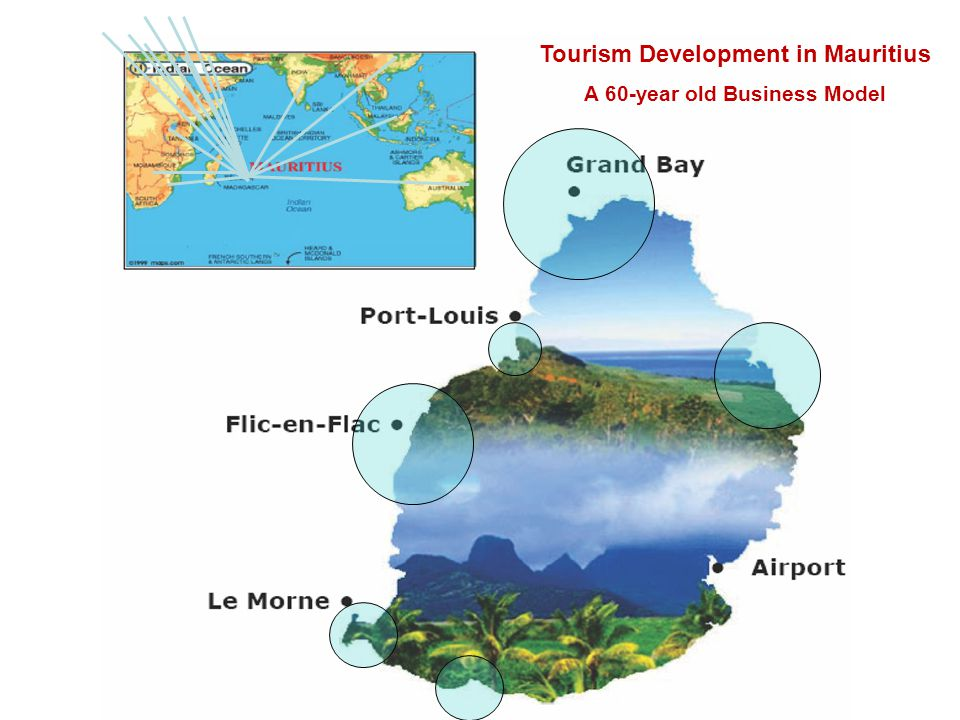 Tourism in Mauritius Prospects Challenges A Presentation to the