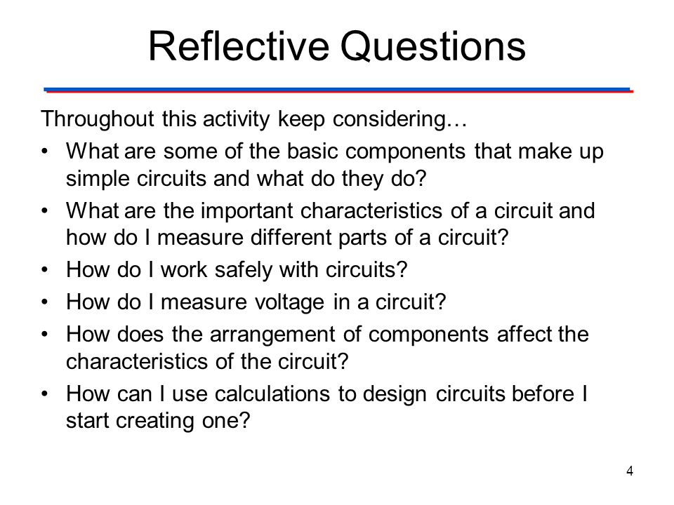 Reflective Questions Throughout this activity keep considering…