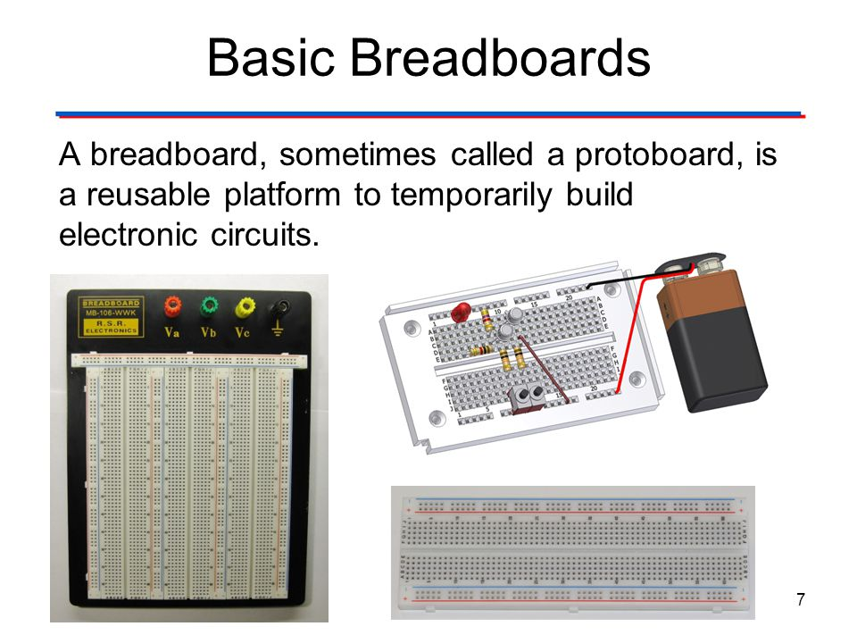 Circuit Theory Laws Basic Breadboards. Digital Electronics TM. 1.2 Introduction to Analog.