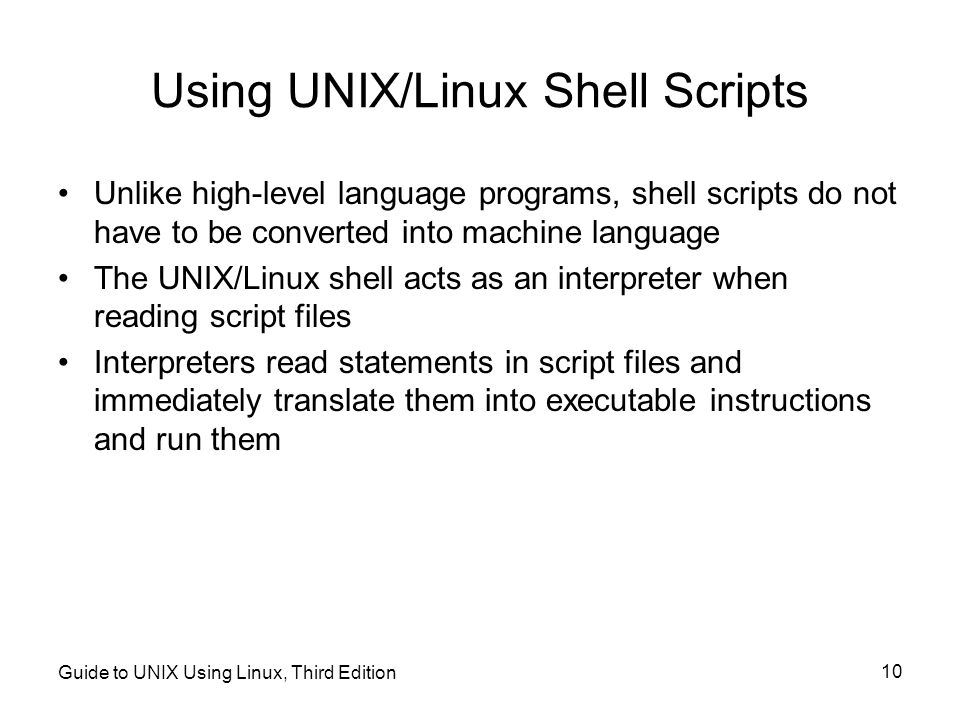 use of unix or linux in Linux, unix, and macos systems provide the ssh and scp commands the ssh client is commonly used to create a remote command-line session with a linux or unix-based system the scp client is used to securely copy files between your client and the remote system.