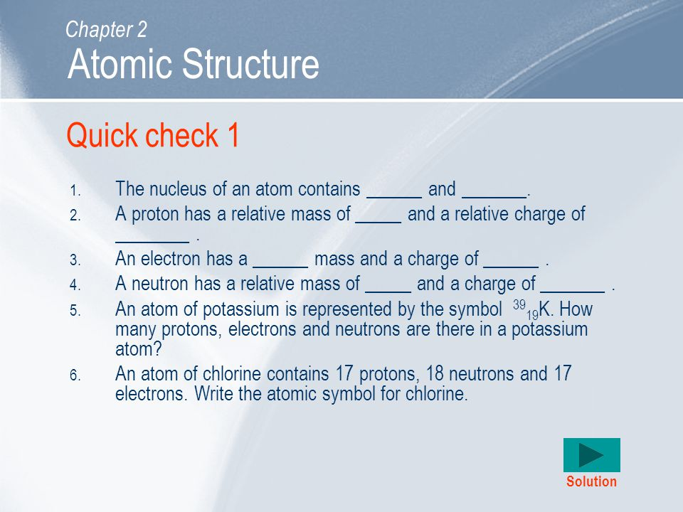 Atomic Structure Learning Outcomes Chapter 2 Ppt Video Online Download