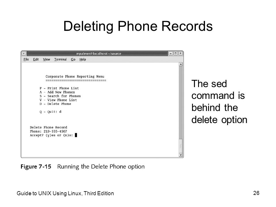 Deleting Phone Records
