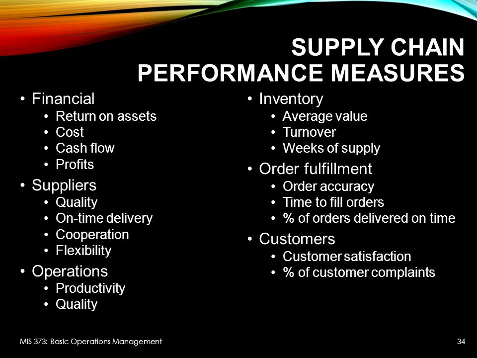 supply chain management measures and scm The finance flow encompasses credit termssupply chain management role of scm in automotive industry the automobile  several measures were undertaken by.