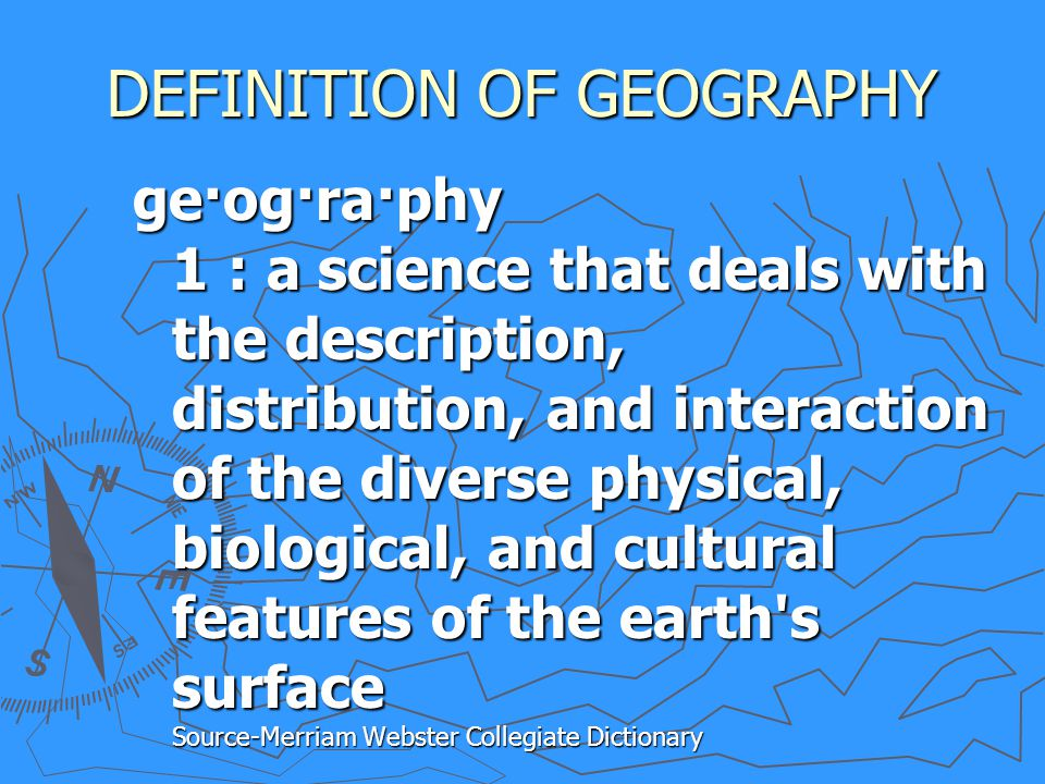 THE 5 THEMES OF GEOGRAPHY - ppt video online download