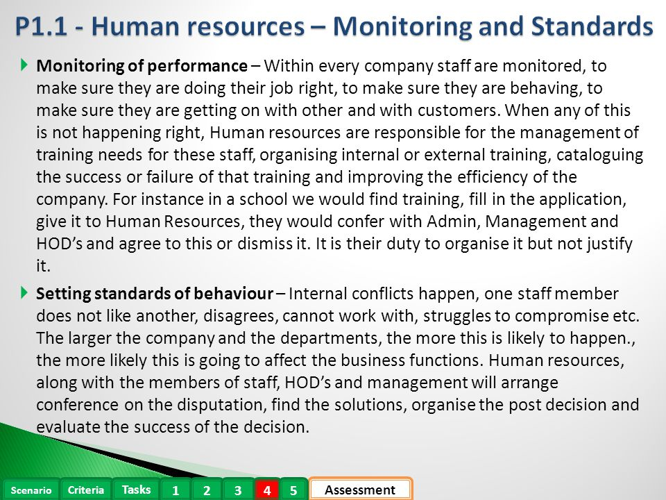 human resources p1 Human resources need to be managed so the staff can feel motivated  managing resources and controling budget costs can improve business performance.