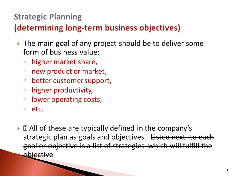 How to Write a Strategic Plan