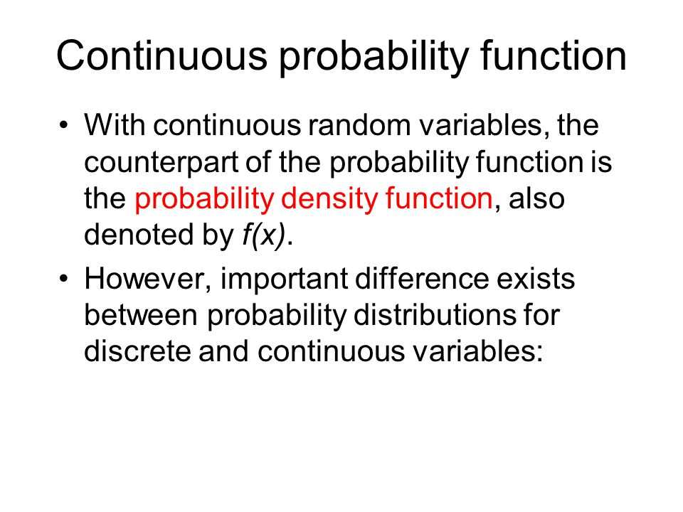 discrete and continuous variables in statistics pdf
