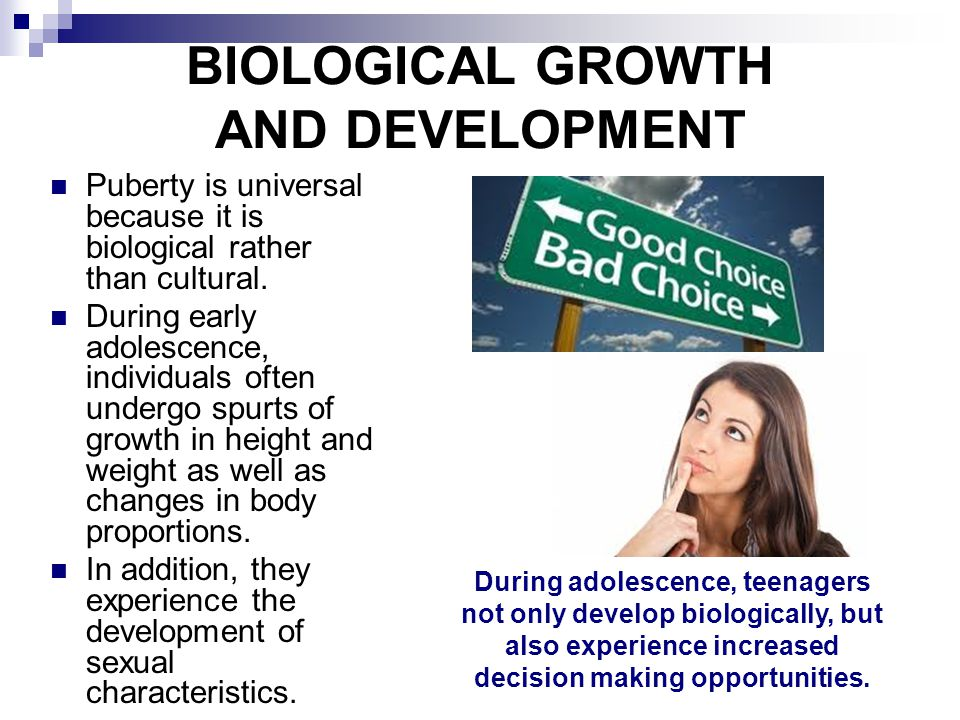 an introduction to the development of sexuality during the adolescence years Adolescent sexual development is likely to be healthy, and to lead to positive sexual health, when each of these processes is appropriately supported in a young person's environment putting all of these factors together, healthy adolescent sexual development occurs not along a single path, but through many trajectories.