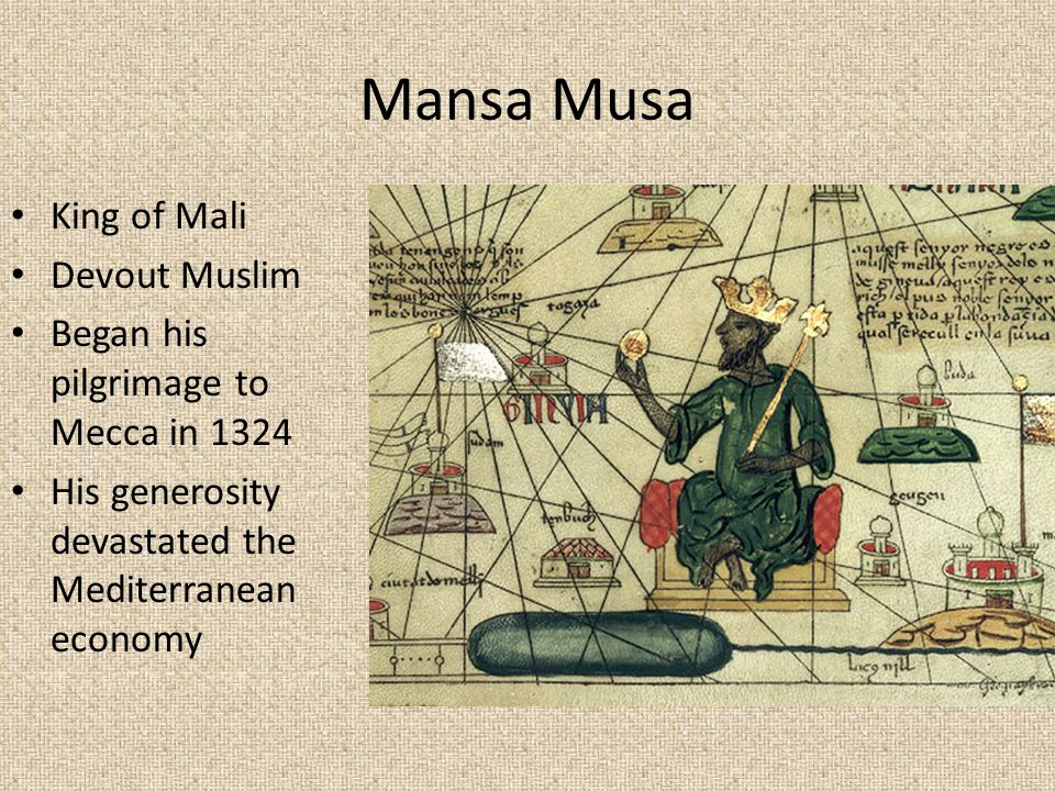 analyzing mansa musas pilgrimage essay Below is an essay on mansa musa from anti essays, your source for research papers, essays, and term paper examples mansa musa's pilgrimage to makkah mansa musa became king in the year 1307.