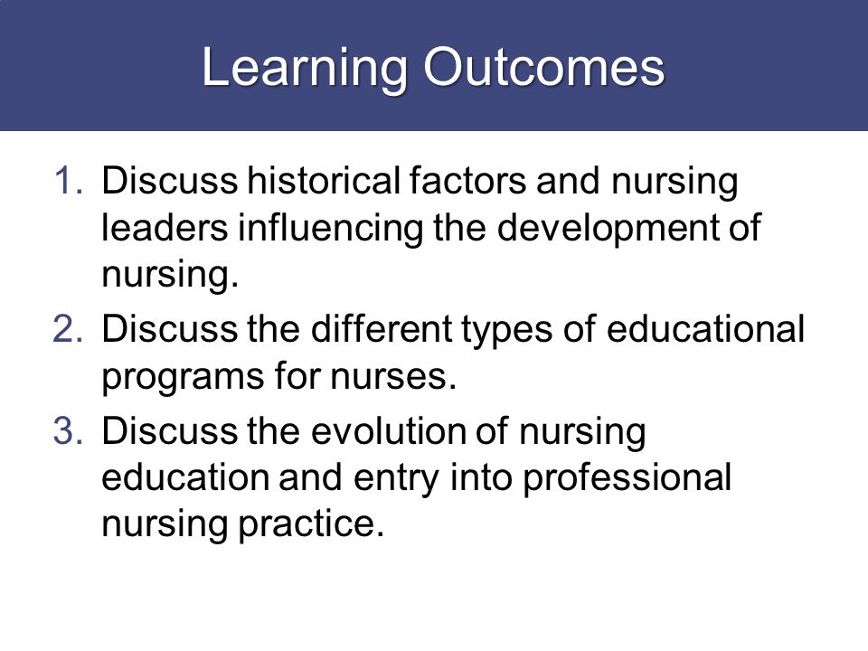 history of nursing profession Table 21 the historical evolution of nursing education programs early  1900s  moreover, those within the nursing profession believed that, with the.