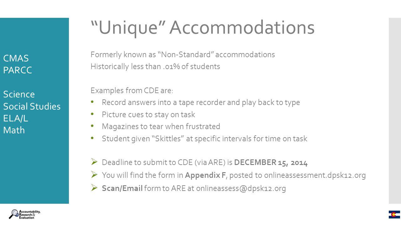 Cmas parcc accommodations ppt download 58 unique accommodations falaconquin