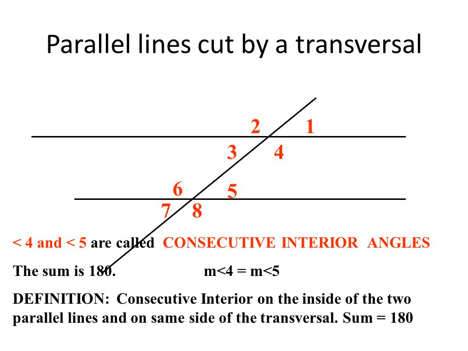 parallel lines definition Parallel and perpendicular lines parallel lines two lines are said to be parallel when they are contained in the same plane and do not intersect this is the definition that parallel lines exist is an assumption (postulate) of euclidean geometry.