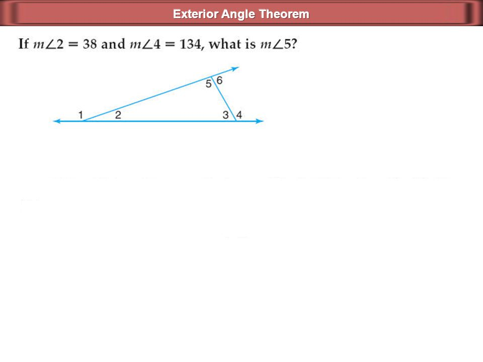Parallel Lines Cut By A Transversal Ppt Video Online