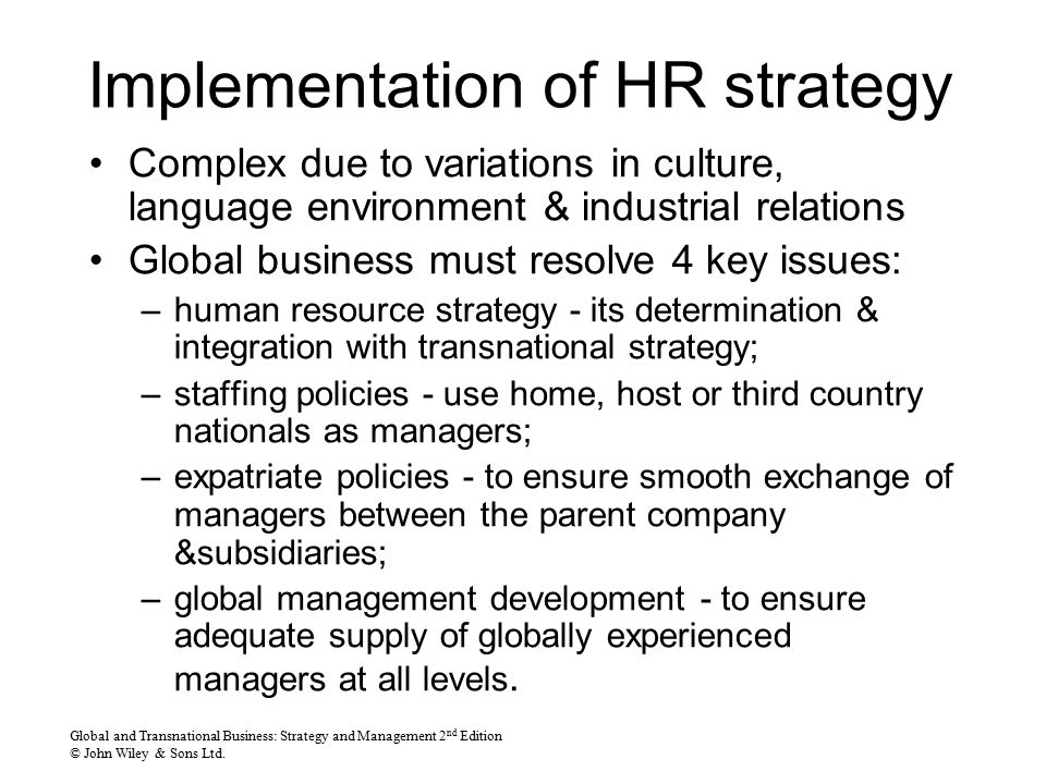 a strategic management in a global context business essay Strategic planning plays an important role in how productive the organization is  with the overall global business strategy to form a strategic partnership.