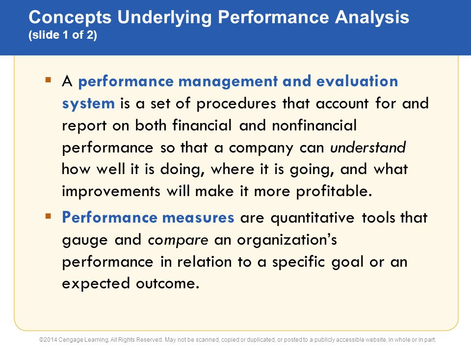Flexible Budgets And Performance Analysis Principles Of