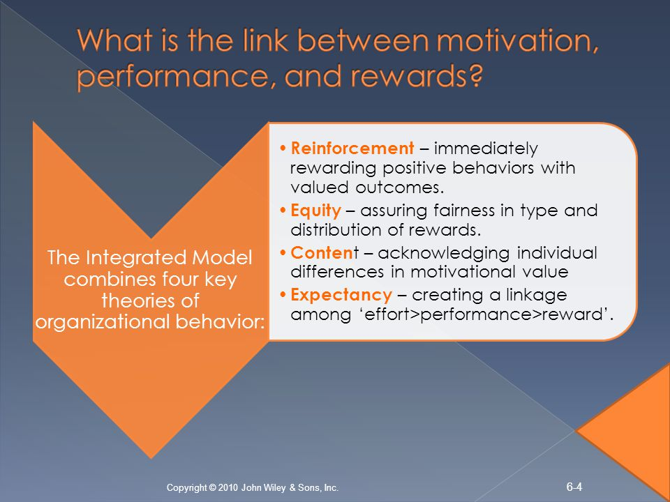 the link between motivation and organizational The effect of leadership on the work motivation of higher  this study purpose examine link between  organizational goals motivation concerns energy,.
