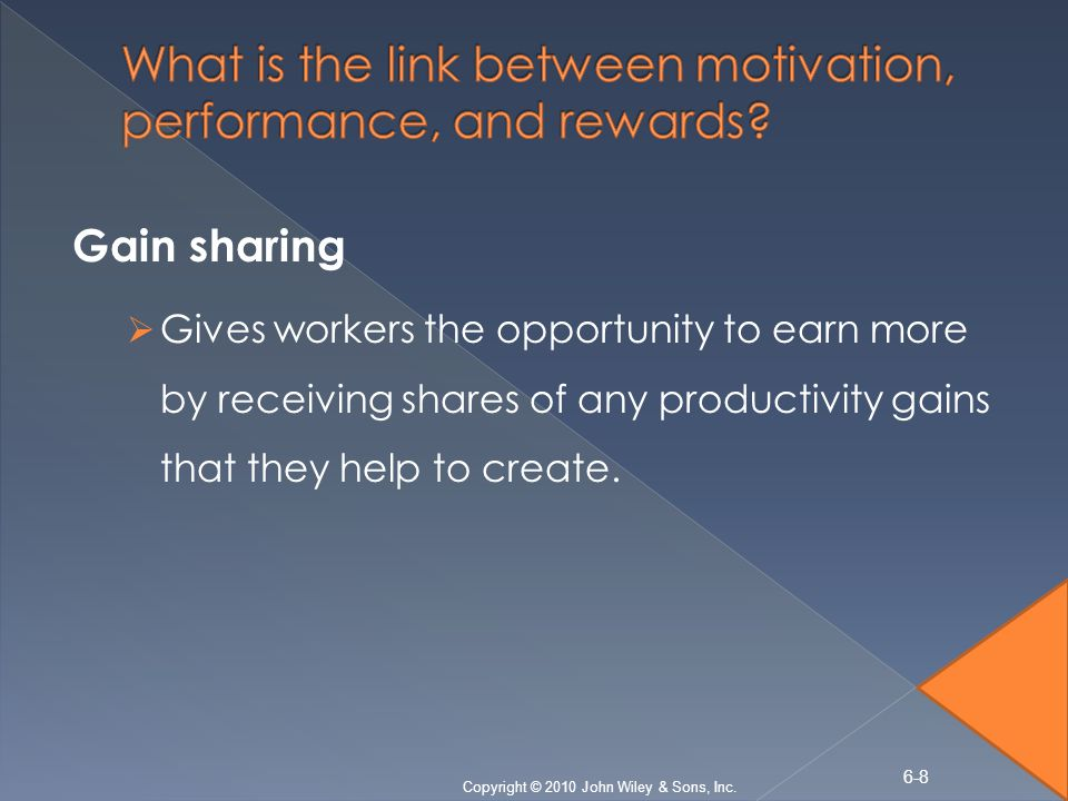 the link between motivation and organizational Organizational rewards can affect individual attitudes, behaviors, and motivation edward lawler describes four major generalizations about employee attitudes toward rewards employee satisfaction is affected by comparison of the rewards they receive with those received by others.