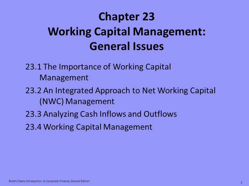 Working Capital Management: Procurement & Accounts Payable