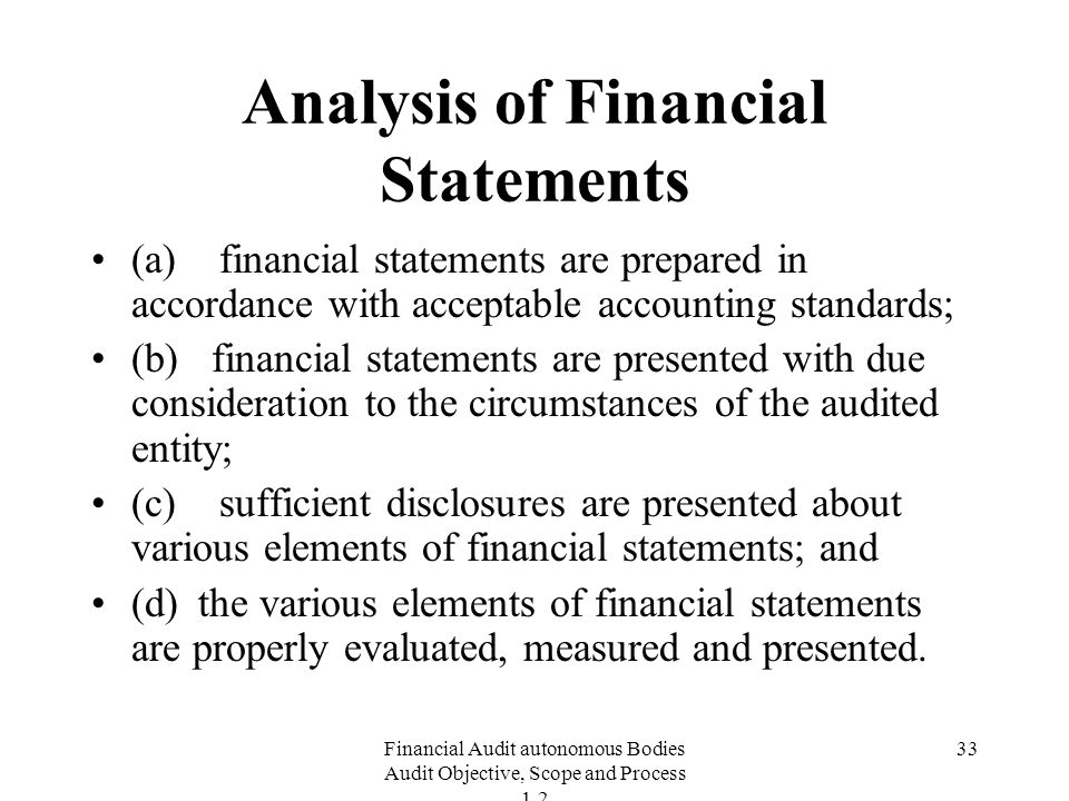 "the analysis of financial statement with Financial report how to read a f analysis"" and ""audited financial the balance sheet, also called statement of financial position, portrays the financial."