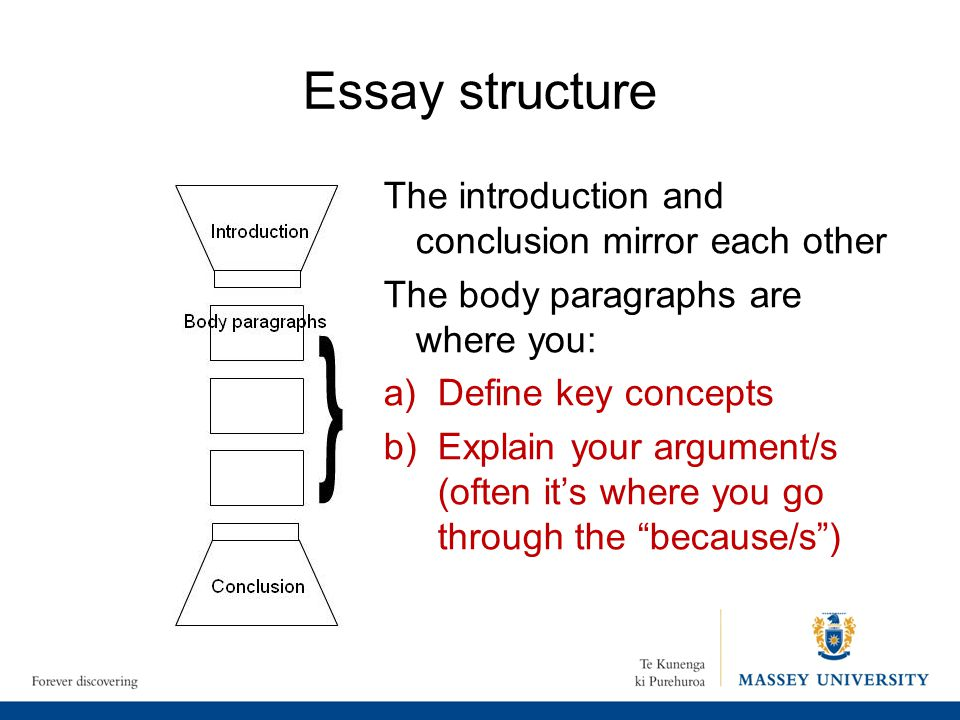 essay writing introduction structure Essay writing: essay structure discussed here is the way of structuring an essay with a proper introduction and conclusion of your argument.