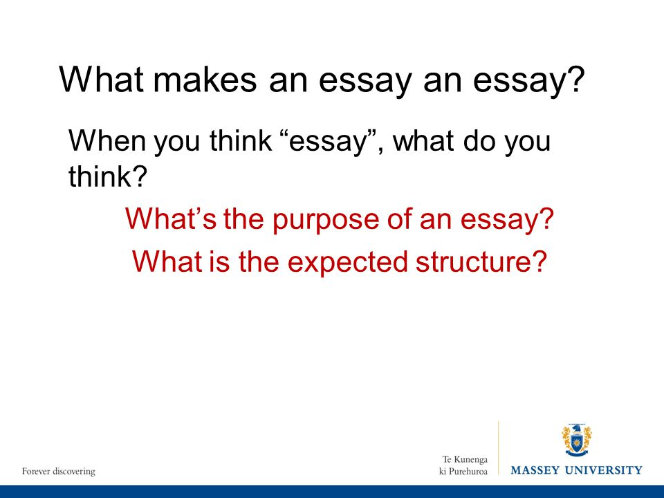 what makes a good essay essay