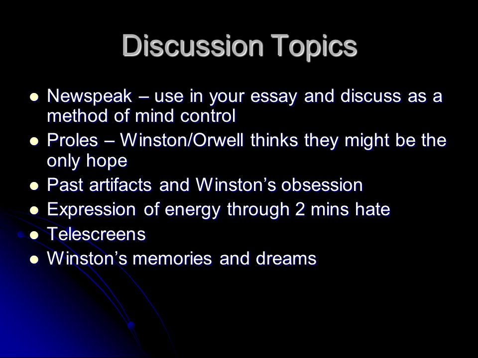 discussion topic Define topic of discussion: subject being talked about — topic of discussion in a sentence.