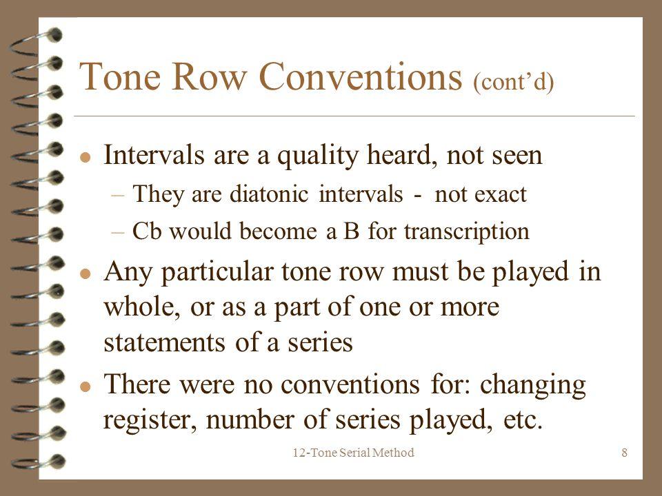 Composer Timeline 12-Tone Serial Method. - ppt download