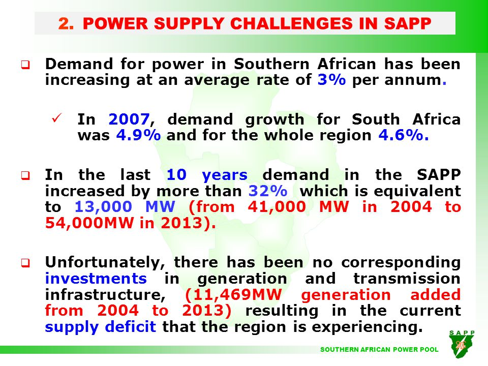 Powering africa sapp strategies ppt video online download 6 power sciox Images