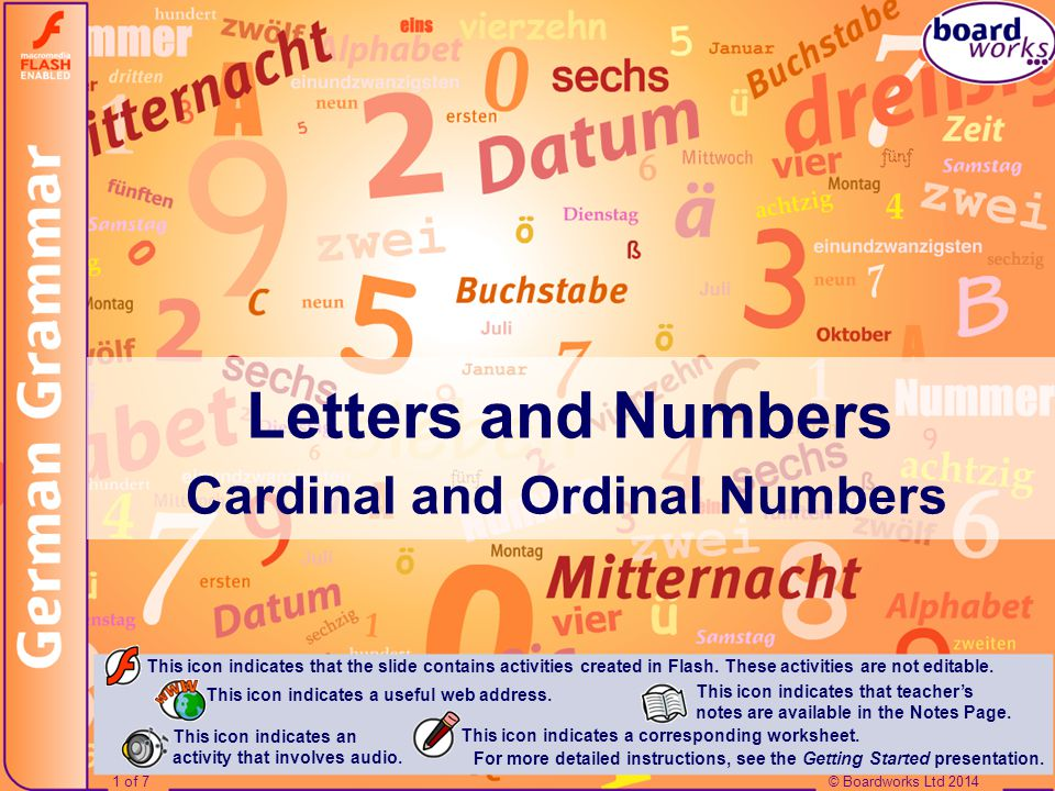 Cardinal and ordinal numbers ppt video online download cardinal and ordinal numbers ibookread PDF